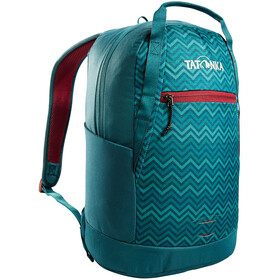 Tatonka City Pack 15 Backpack teal green zig zag